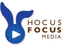 Hocus Focus Media seattle logo